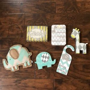 Bundle of Nursey items!!  These are all so cute!
